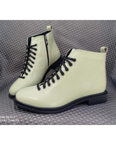 Женская обувь Haries 495 кожа Фисташка