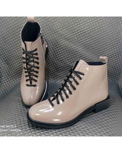 Женская обувь Haries 495 лак кофе