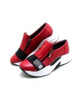 Женские кроссовки Haries 224 красный перламутр