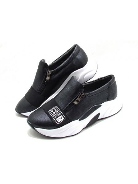 Женские туфли Haries 224 черный перламутр