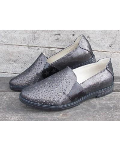 Женские туфли Haries 115/2К графит