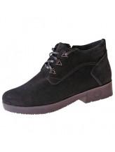 Женские ботинки Haries 215 замш черный