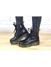 Женские ботинки Haries 228Т черная кожа