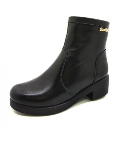 Женские ботинки Haries 377/2 кожа черный