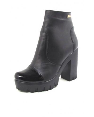Женские ботинки Haries 87/1 кожа черный