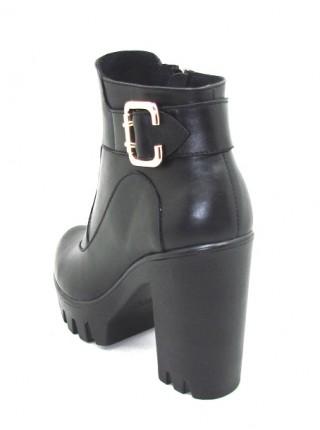 Женские ботинки Haries 84 кожа черный