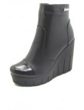 Женские ботинки Haries 87/1Т кожа черный