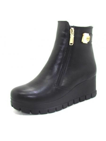 Женские ботинки Haries 312Т кожа черный