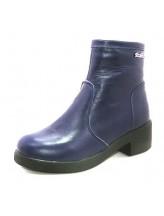 Женские ботинки Haries 377/2 кожа синий