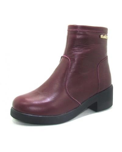 Женские ботинки Haries 377/2 кожа бордо
