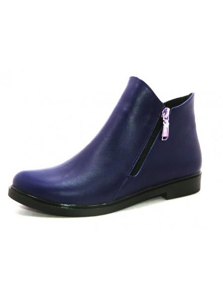 Женские ботинки Haries 214 кожа синий