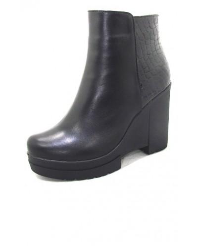 Женские ботинки Haries 230Т кожа+рептилия