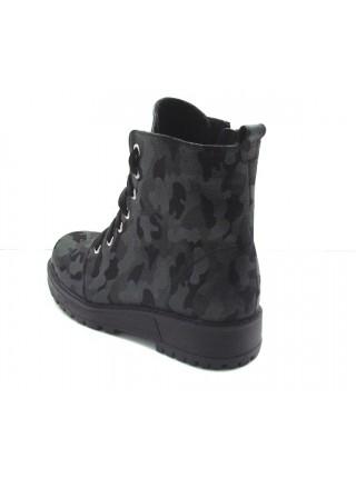 Женские ботинки Haries 520 камуфляж зеленый