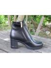 Женские ботинки Haries 312/5 кожа черный
