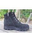 Женские ботинки Haries 500 нубук черный