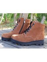 Женские ботинки Haries 500 замш рыжий
