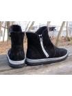 Женские ботинки Haries 570 замш черный
