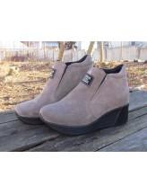 Женские ботинки Haries 360 замш визон