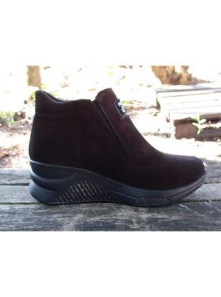 Женские ботинки Haries 360/4 пропитка бордо