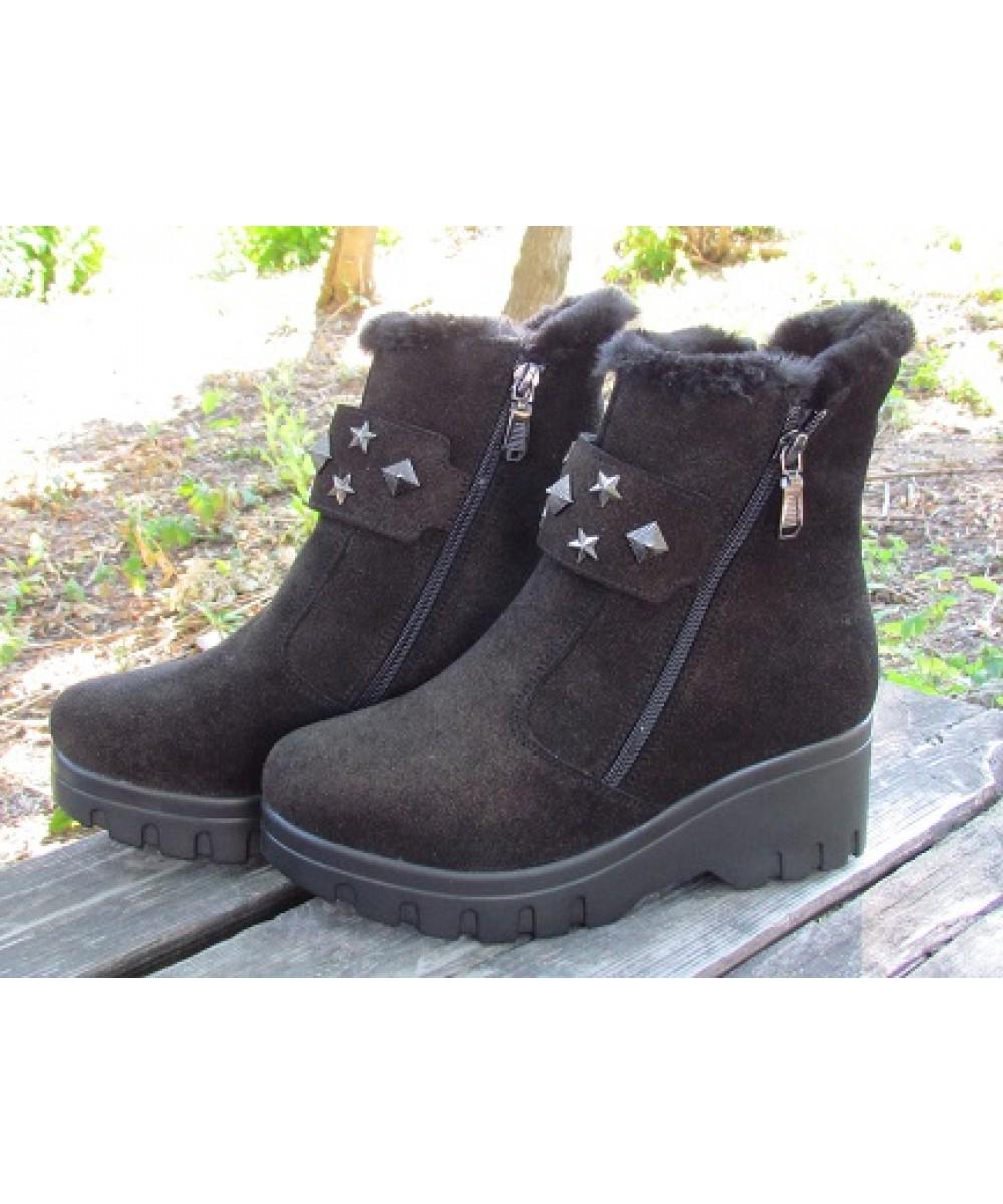 c6389f136168 Женские ботинки оптом, купить оптом у производителя в Украине зимнюю ...
