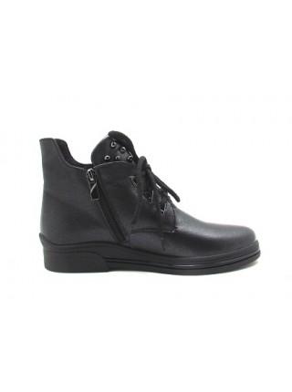 Женские ботинки Haries 235 черный перламутр