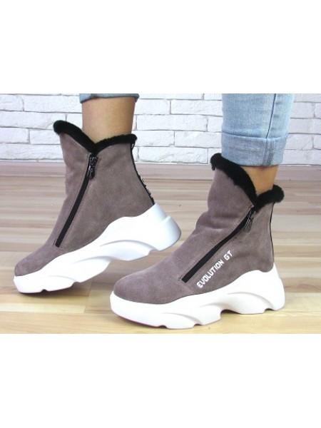 Женские ботинки Haries 637сбп визон