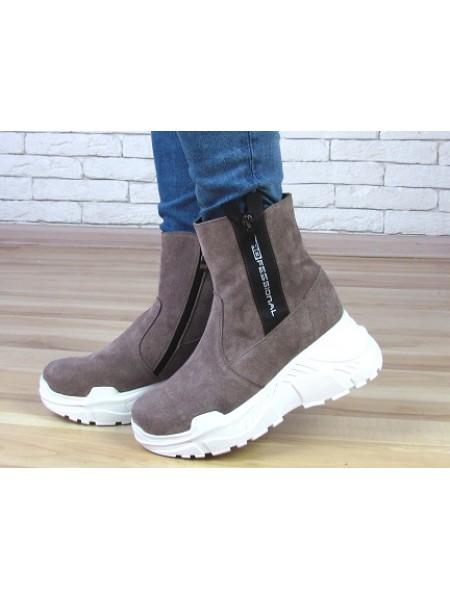 Женские ботинки Haries 537с бп визон