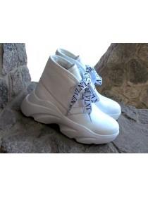 Женские ботинки Haries 420 белая кожа