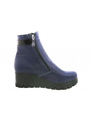 Женские ботинки Haries 312Т кожа синий