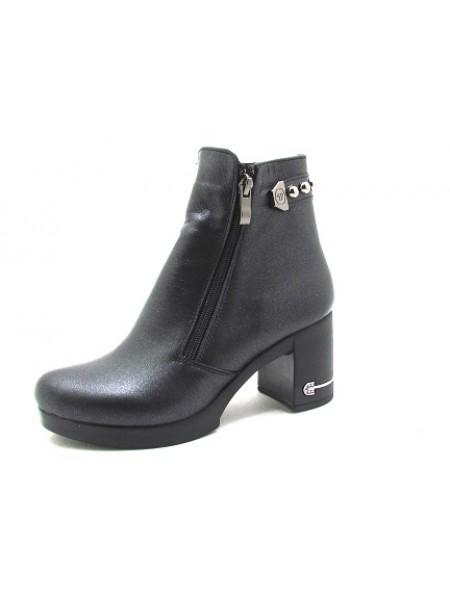 Женские ботинки Haries 312/5 черный перламутр