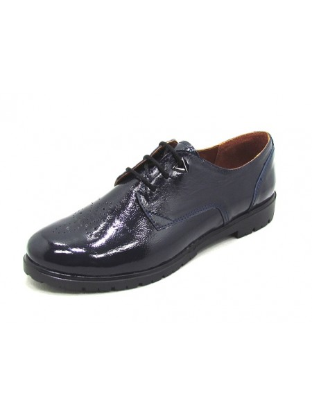 Женские туфли Haries 260/1 лак синий