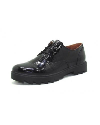 Женские туфли Haries 260/2 лак рептилия