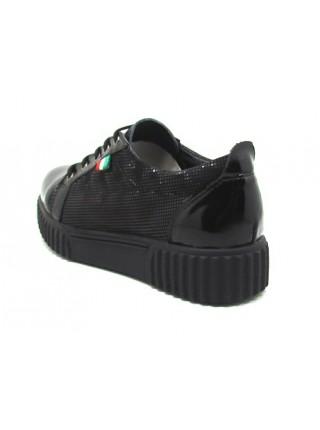 Женские туфли Haries 320 лак+кожа 3D