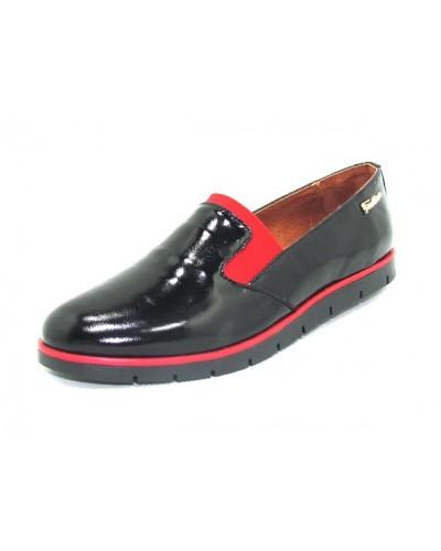Женские туфли Haries 124 лак черный