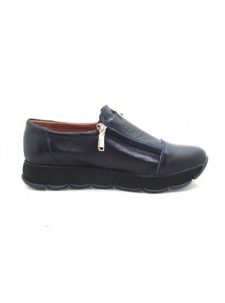 Женские туфли Haries 224/2 кожа синий