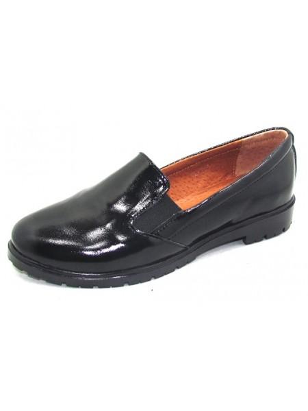 Женские туфли Haries 122/2 лак черный