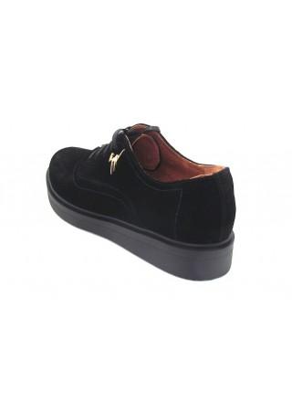 Женские туфли Haries 350 замш черный