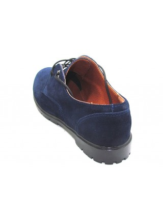 Женские туфли Haries 260 замш синий