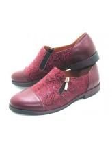 Женские туфли Haries 265 кожа бордо