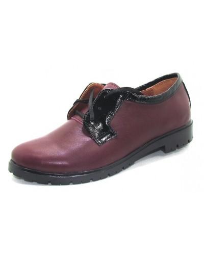 Женские туфли Haries 352 кожа бордо