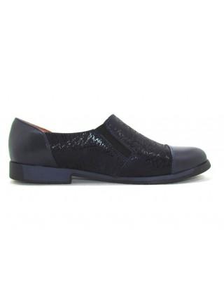 Женские туфли Haries 265 кожа синий