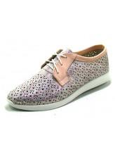 Женские туфли Haries 353/1 пудра цветная