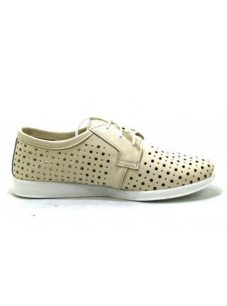 Женские туфли Haries 353/1 кожа беж