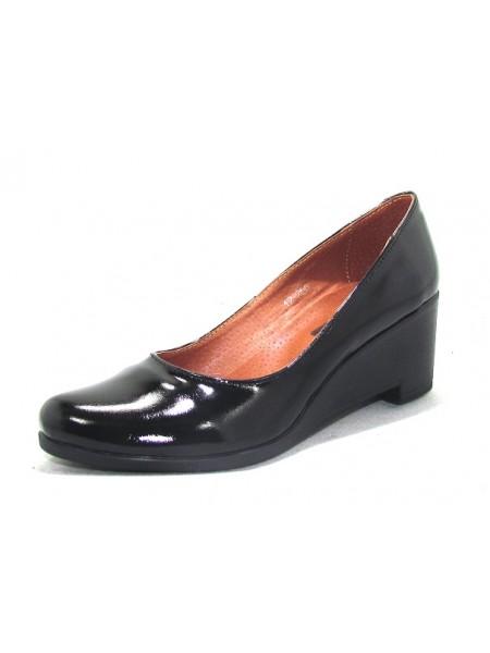 Женские туфли Haries 318Т лак черный