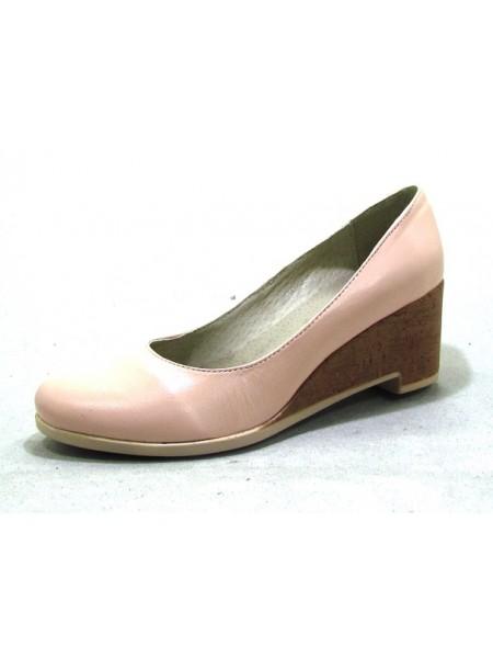 Женские туфли Haries 318Т кожа пудра