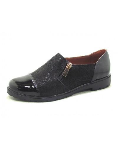 Женские туфли Haries 265 кожа черный
