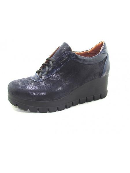 Женские туфли Haries 888T терка синий