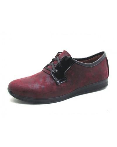 Женские туфли Haries 353 терка бордо