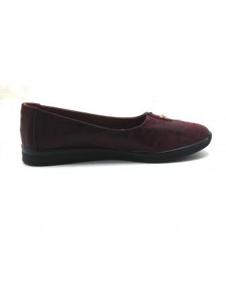 Женские туфли Haries 119 терка бордо