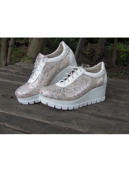 Женские туфли Haries 888Т елка беж